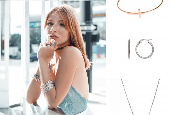 pendientes en la oreja para crear otras joyas DIY