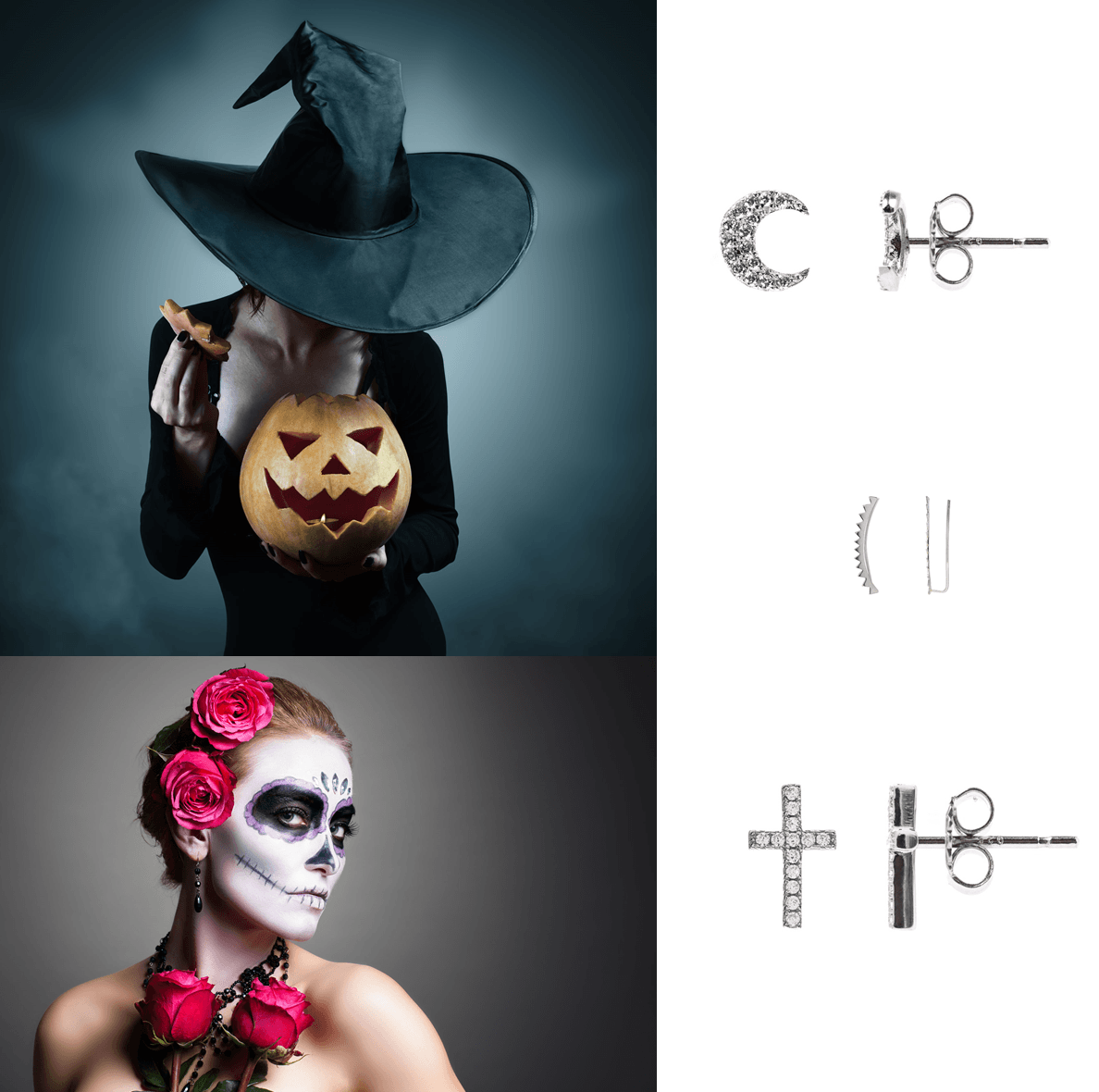 joyas de halloween disfraz