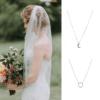 anillos de boda al cuello